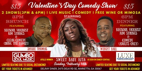 Valentine's Day Comedy Show tickets