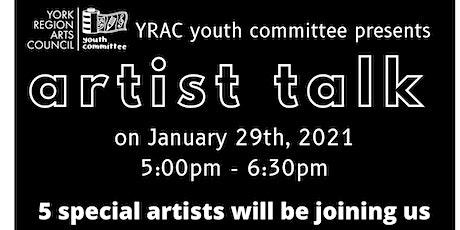 Artist Talk 2021 tickets