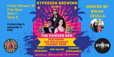 Hyperion Brewing Comedy Show Featuring The Gold Coast Comedy Tour tickets