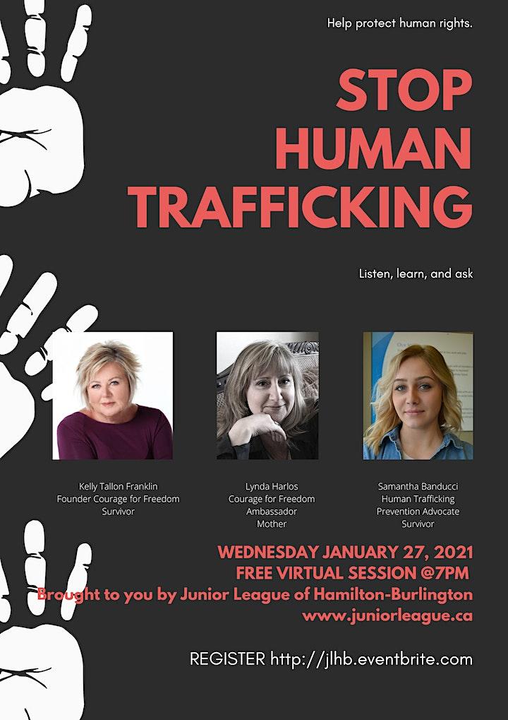 Stop Human Trafficking image