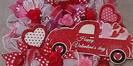 Let's Get Creative! Spend a fun evening making a Valentine Wreath tickets