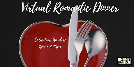 Virtual Couples Romantic Dinner 2021 tickets