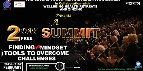 Finding the Mindset Tools to Overcome Challenges tickets