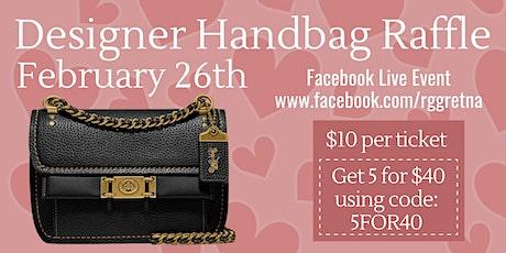 RGG Handbag Bingo tickets