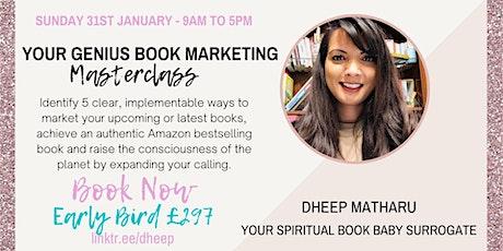 Your Genius Book Marketing Masterclass Tickets
