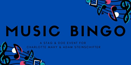 Online Music BINGO - Virtual Stag and Doe! tickets