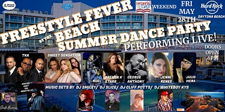Freestyle Fever - Summer Dance Party tickets