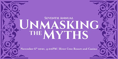 Unmasking the Myths Gala 2021 tickets
