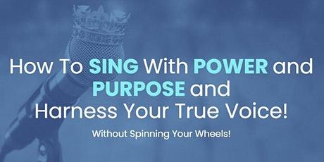 Singing - Discover the 4 Pillars to an Amazing Singing Voice! tickets