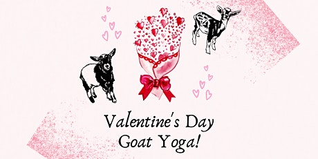 Valentine's Day Goat Yoga tickets
