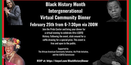Black History Month Intergenerational Community Dinner tickets