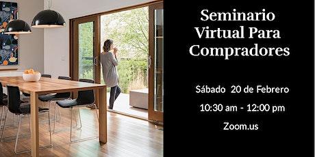 Virtual Buyers Seminar:  Spanish boletos