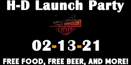 H-D Launch Party and motorcycle camp tickets