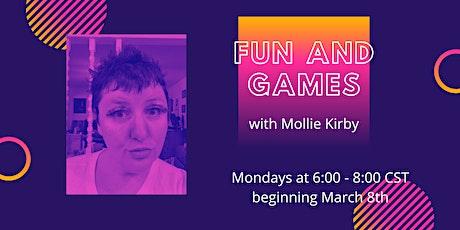 Short Form :: Mollie Kirby :: Mondays beginning March 8th billets