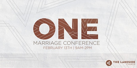 One Marriage Conference tickets