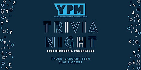 Young Professionals of Minneapolis Trivia Night, 2021 Kick-Off & Fundraiser tickets