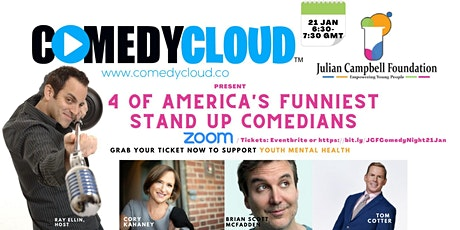 JCF (Julian Campbell Foundation) Virtual Comedy Night tickets
