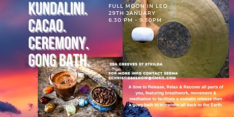 Kundalini Cacao Ceremony tickets