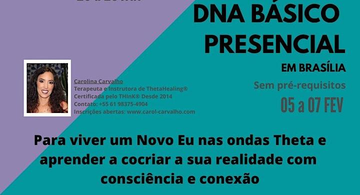 Curso ThetaHealing - DNA BÁSICO Presencial image