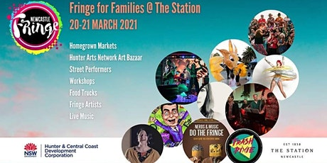 Hunter Arts Network Art Bazaar at Newcastle Fringe for Families @ The Stati tickets