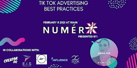 Tik Tok Advertising Best Practices tickets