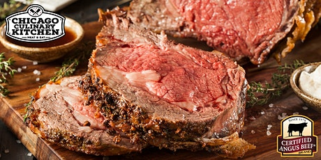 Smoked Prime Rib Dinner for 2 tickets