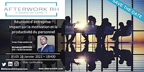 AfterWork RH Cameroun | Réunions d'entreprise | Jan. 2021 billets
