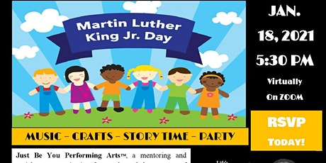 Dr. King Day Celebration for Kids! tickets