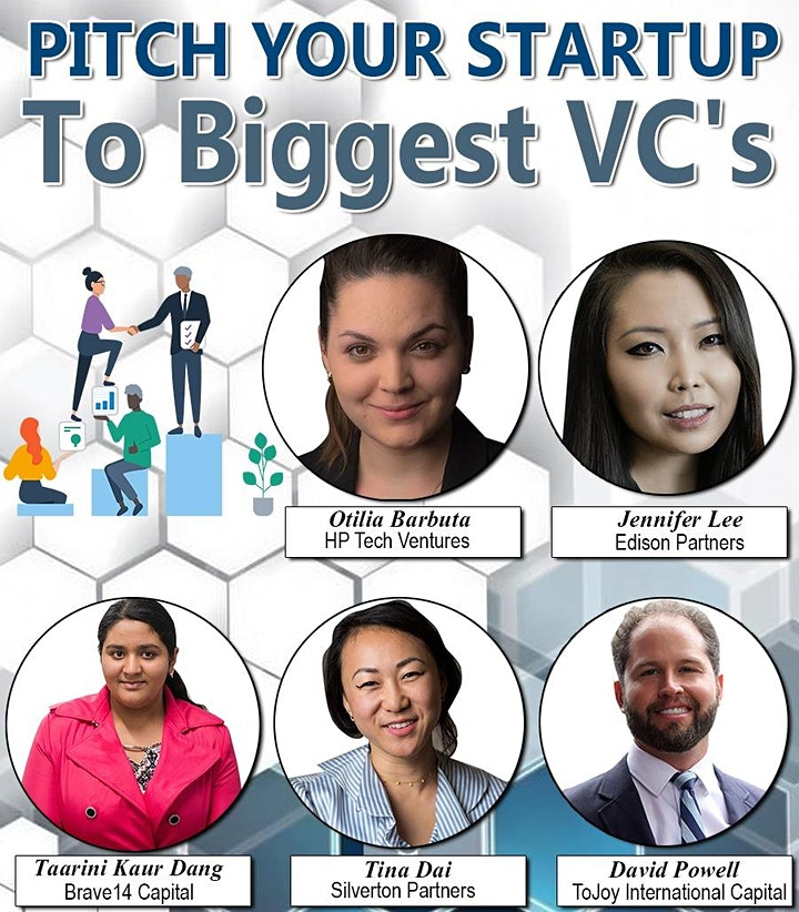 Pitch Your Startup To Top VC's image