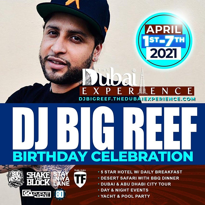 THE DUBAI EXPERIENCE APRIL 1 - 7, 2021 image