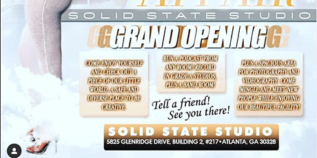 Solid State Studio: Grand Opening tickets