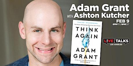 Adam Grant in conversation with Ashton Kutcher tickets