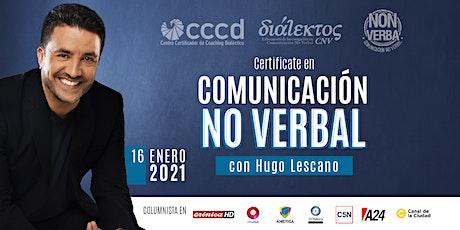 Doble Certificación INTERNACIONAL en Comunicación No Verbal boletos