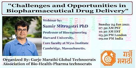 """Challenges and Opportunities in Biopharmaceutical Drug Delivery"""" tickets"""