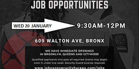 Johnson Security Meet & Greet Career Event tickets
