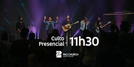 Culto de Celebração 11h30 | Domingo, 24 de Janeiro | Paz São Paulo ingressos