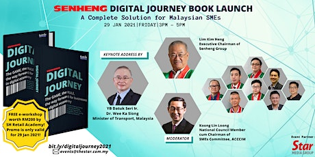 SENHENG DIGITAL JOURNEY BOOK  LAUNCH-A Complete Solution for Malaysian SMEs tickets