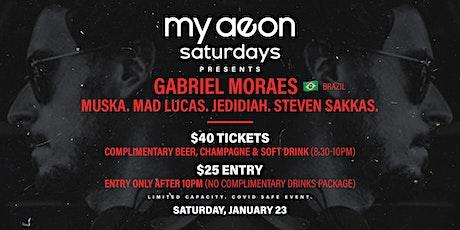My Aeon Saturdays tickets