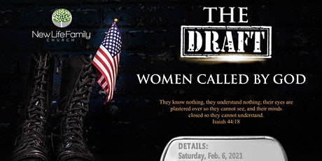 THE Draft- Event for Women Called By God tickets