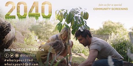 Film Screening 2040 : The Regeneration tickets