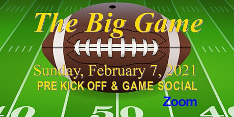 Pre Kickoff and Football Game / Halftime Party ~ Zoom tickets
