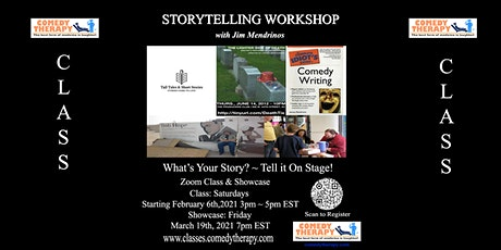 Storytelling Workshop with Jim Mendrinos tickets