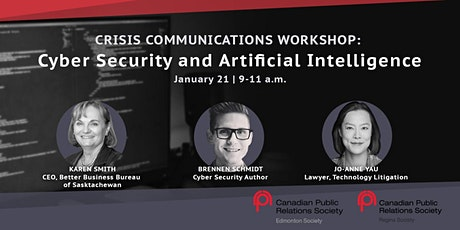 Crisis Communications Workshop: Cyber Security and Artificial Intelligence tickets