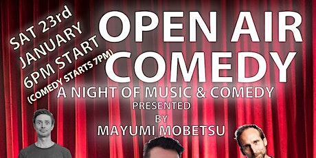 Open Air Comedy Night Wefo Pop up Park tickets