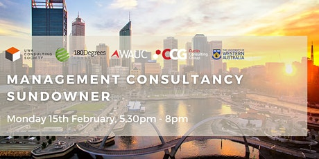 2021 Management Consultancy Day and Sundowner tickets