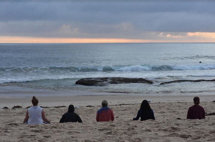 Feb 4 Thursday Morning Sunrise Meditation Maroubra Beach image