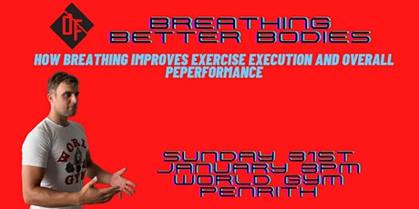 Breathing Better Bodies tickets