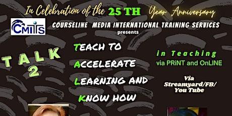 Talk 2 Talk  International Virtual Conference tickets