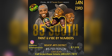 Ventrill Art Paint by Numbers Paint n Vibe tickets