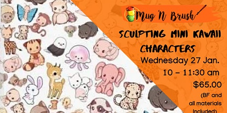 Sculpting Mini Kawaii Characters tickets